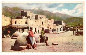 New Mexico Indians , Pueblos and Buildings
