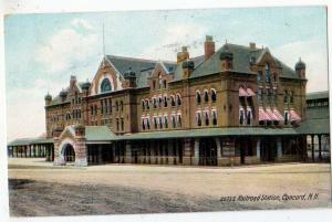 Railroad Station, Concord NH