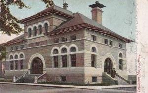 Maine Lewiston Post Office 1905