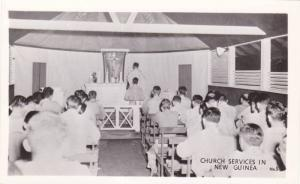 RP, Interior, Church Services In New Guinea, 1920-1940s