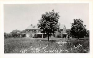 Swansea MA~Protestant Episcopal Church Rest House~Mt Hope Bay~1940s RPPC