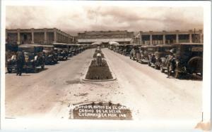 RPPC  CUERNAVACA, Morelia  Mexico  'CASINO DE LA SELVA  Cars  c1920s  Postcard