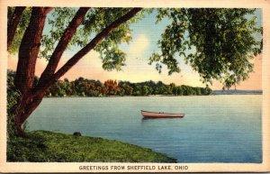 Ohio Greetings From Sheffield Lake 1939