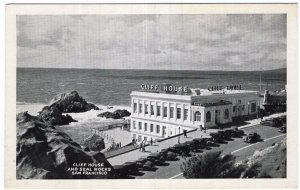 San Francisco, Cliff House and Seal Rocks