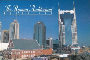 The Ryman Auditorium Nashville Tennessee