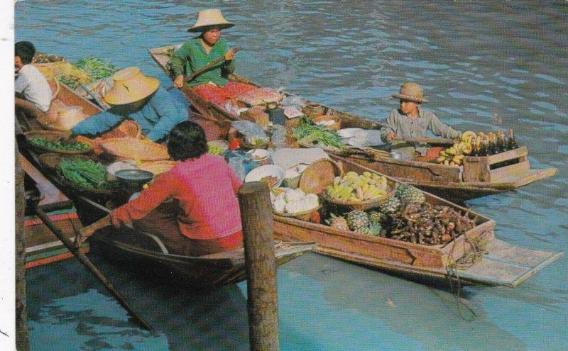 Thailand Bangkok Wat-Sai The Floating Market sk4158