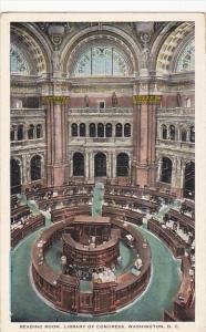 The Reading Room Library Of Congress Washington DC