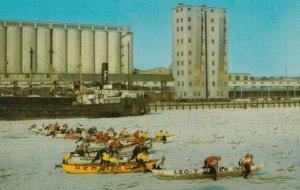 Carnaval de Quebec, Canada, 1950-60s ; Ice Canoe Race