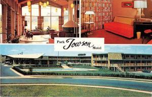 Towson Maryland Park Towson Vintage Postcard J53646