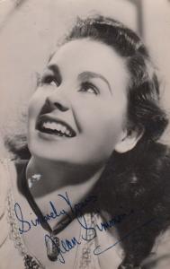 Jean Simmons Original Printed Signed Vintage Photo