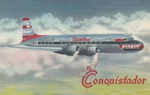 BRANIFF International Airways DC-6 Airplane , 1930-40s