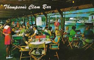 Interior Thompson Brothers Clam Bar On Wychmere Harbor Cape Cod Massachusetts