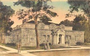 Peabody Hall, Lawrence Conservatory of Music, Appleton, WI 1910 Vintage Postcard