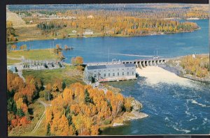 Ontario ~ Aerial Ear Falls Power Plant on the RED LAKE Highway 1950s-1970s