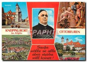 Postcard Modern Kneippkurort Ottobeuren im Allgaeu