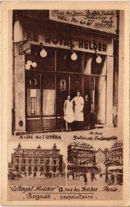 CPA PARIS 9e - Le Royal Helder (78240)