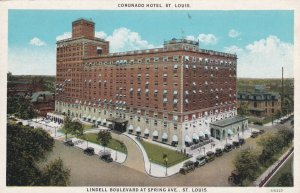 ST. LOUIS, Missouri, 1900-1910's; Coronado Hotel, Lindell Boulevard