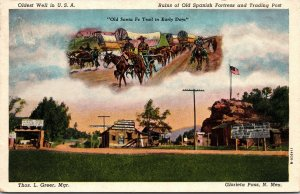 Postcard NM New Mexico Glorieta Pass Old Pigeon Ranch Unposted