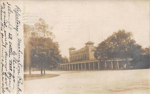 Chicago IL~Washington Park Refectory~Not Familiar For Sight For You~1907 RPPC