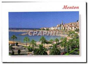 Modern Postcard Menton Alpes Maritimes General view
