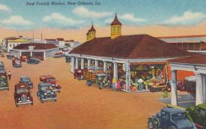 Louisiana New Orleans The New French Market Curteich
