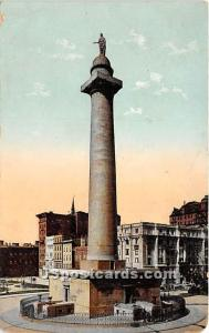 Washington Monument Baltimore MD 1908