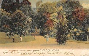 SINGAPORE Botanic Garden Southeast Asia 1906 Vintage Postcard