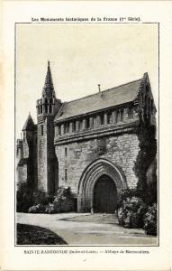 CPA Sainte-Radegonde - Abbaye de Marmoutieres (279798)