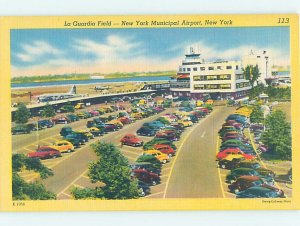 Linen AIRPORT SCENE Laguardia In Queens - New York City New York NY AF1418