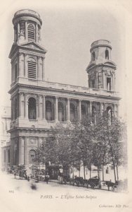 PARIS, France,1910-1920s, L'Eglise Saint-Sulpice