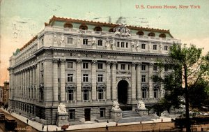 New York City United States Custom House 1910