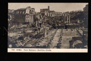 039844 ITALY Roma Foro Romano Basilica Giulia Old PC