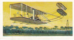 Trade Cards Brooke Bond Tea Transport Through The Ages No 35 Wright Brothers