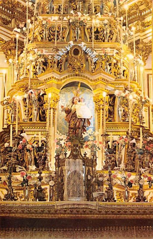 Salvador Brazil, Brasil Basilic of our Lord of Bonfim, High Altar Salvador Ba...