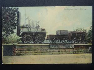 S.& D.R. Stockton & Darlington Railway No.1 ENGINE Buffing Billy c1905 Postcard