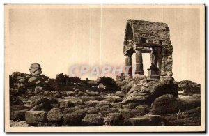 Old Postcard Cote De Granite Ploumanac h Dimensions of North Saint Guirec ora...