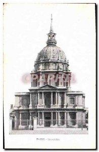 Postcard Old Paris Invalides