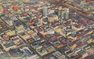 BIRMINGHAM , Alabama , 1951; Aerial View of the City