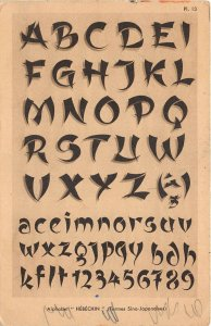 us7523 alphabet hebechin China Japan Letters