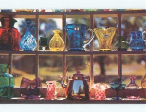 Pre-1980 POSTCARD OF ANTIQUE GLASS AT CAPE COD ANTIQUE SHOPS Cape Cod MA E5561