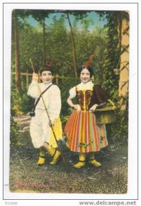 Two Children, Madeira Costumes, 00-10s