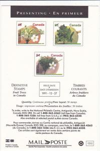 Definitive Stamps 1991 Canada Post Corporation