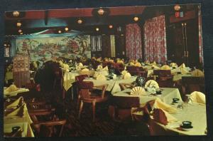 Postcard Unused Shangra-La Restaurant Indian Motor Inn Carlisle PA LB