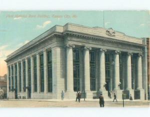 Divided-Back BANK BUILDING Kansas City Missouri MO E5119
