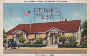 Indiana Whiting Lundgren's Restaurant 1941 Curteich