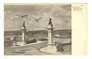 Entrance To Highland Park, Pittsburg, Pennsylvania, 1900-1910s