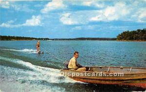 Boating on KY Lake KY , USA Water Skiing 1963
