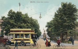 BERLIN , Germany , 1900-10s : Unter den Linden # 3