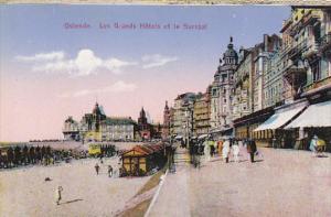 Belgium Ostende Les Grands Hotels et le Kursaal
