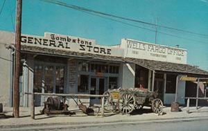 TOMBSTONE , Arizona, 1950-60s ; Tombstone General Store, Wells Fargo Musuem